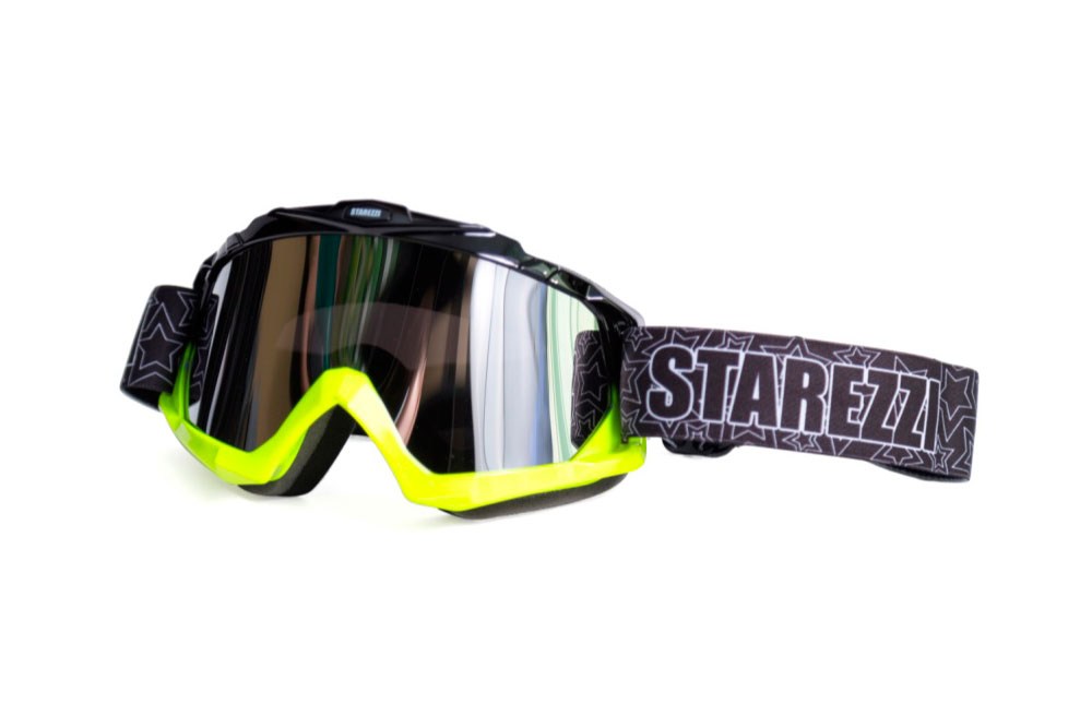 Кроссовые очки STAREZZI MX BLACK FLUO YELLOW 156-704